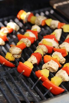Grilled Balsamic Chicken Skewers Recipe - Tammilee Tips