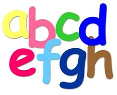 ABC Chicka Chicka Boom Boom Tree Letters