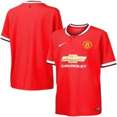 2014/15 Manchester United FC Nike Youth Home Stadium Soccer Jersey – Red - $56.04