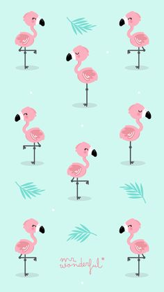 Luxury Apple Wallpaper Flamingos - Apple Wallpaper Flamingos Elegant Flamingowallpapers Wallpaper♡love In 2019