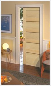 Pocket doors where ever possible!