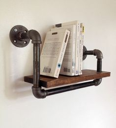 How to Upcycle Pipes into Industrial DIY Shelves and Lighting