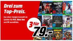 3 PlayStation 4 Games für 79 Euro: Krasse Spiele-Schnäppchen bei Media Markt - http://ift.tt/2b95gAp