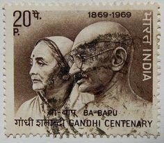 India Gandhi Postage Stamp