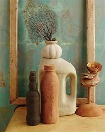 Sand Textured Bottles & Vases