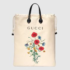 Shop the Drawstring tote with Chateau Marmont print by Gucci. Pan, the half-man/half-beast Greek god, is the mascot used on the laundry bags at the famous Chateau Marmont hotel in Hollywood. Purses And Handbags, Leather Handbags, Gucci Handbags, Leather Purses, Handbags Online, Men's Totes, Neoprene, Mode Outfits, Canvas Tote Bags