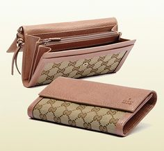 439436d85dac Stuff to Buy · Bree Original GG Canvas Continental Wallet - GUCCI wallets  http://www.gucci