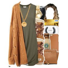 Untitled #422 by trillestqueen on Polyvore featuring polyvore, fashion, style, Witchery, UGG Australia, MICHAEL Michael Kors, Nixon, Versace, Tory Burch and MAC Cosmetics