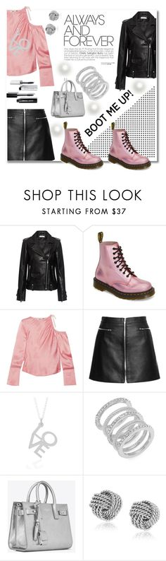 """""""boots"""" by aniadratwicka ❤ liked on Polyvore featuring IRO, Dr. Martens, Topshop Unique, Cole Haan, Yves Saint Laurent and Bobbi Brown Cosmetics"""