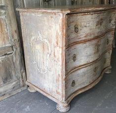 barokk bútor Country Chic, Vintage Designs, Dresser, Shabby Chic, Antiques, Furniture, Tv, Home Decor, Antiquities