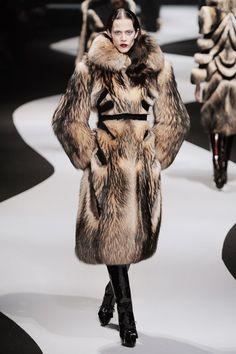 Winter 2013 Fashion Collection Sensual Art Deco Finn Raccoon Fox Furs