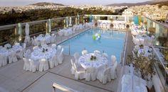 A fairytale wedding reception at St' Astra Blue Roof Garden..!  http://www.rbathenspark.com/