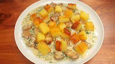 Hříbky a brambory – pro českou kuchyni velká šílená láska! Naučte se moje krémové hříbky a opékané brambory, které peču jen z jedné strany. Zvláštní trik, ale funguje parádně. Cantaloupe, Food And Drink, Fruit, Cooking, Kitchen, Brewing, Cuisine, Cook