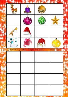 Theme Noel, December, Animation, Education, Games, Christmas, Montessori, Portrait, Xmas