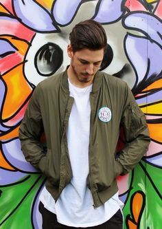junkbox green bomber jacket Guys And Girls, Going Out, Wanderlust, Unisex, Jackets, Down Jackets, Jacket