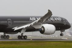 Air New Zealand Boeing 787 -9. Only ten more to come .... a great airline that keeps evolving