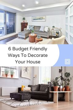 Decorating your home on a budget? Keep on reading and discover these 6 interior design tips that will help you achieve your dream home decor on a budget!