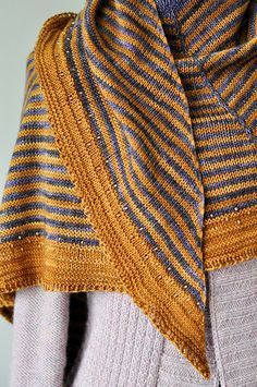 Daybreak Shawl | Pattern by Stephen West, Yarn is Madelineto… | Flickr