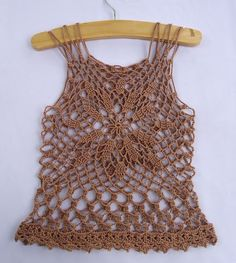 free pattern - Stitch of Love: Crochet Summer Top - Isn't this pretty?