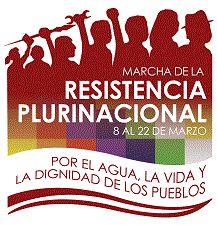 Cartel de la Marcha - Ecuarunari
