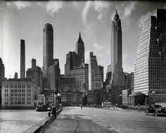 "In 1929, Berenice Abbott traveled to New York City after having spent eight years in Europe. In her absence, countless 19th-century buildings had been razed to make way for skyscrapers. She decided to stay in the country and document the changing face of the city. By 1940, the photographer had completed ""Changing New York,"" an invaluable historical testimony of a life in Manhattan that has disappeared."