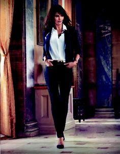 Helena Christensen For NYDJ F/W13 AD Campaign - Denimology