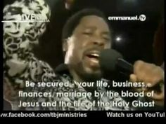 Mass Prayer - Special Powerful Prayer By Prophet TB Joshua - SCOAN 10-02... T B Joshua, Emmanuel Tv, Powerful Prayers, Faith Prayer, Godly Man, Holy Ghost, Power Of Prayer, Prayer Request, Finance