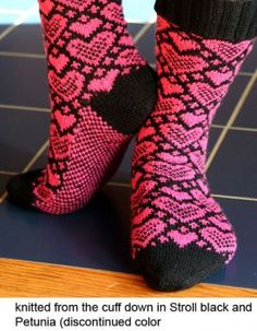 Sweet Socks - Knitting Patterns by Camille Chang