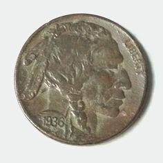 1936 buffalo nickel found metal detecting.
