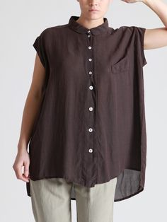 OVERSIZED SHIRT MADE OF TENCEL-CUPRO