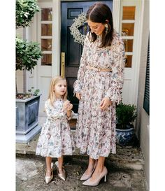 Shop for Antonio Melani x Nicola Bathie Claire Floral Chiffon Round Neck Long Sleeve Belted Dress at Dillard's. Visit Dillard's to find clothing, accessories, shoes, cosmetics & more. The Style of Your Life.