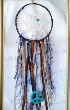 Check out this item in my Etsy shop https://www.etsy.com/listing/269679177/dream-catcherunique-hippie-bluebrown