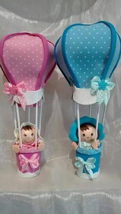 Balão Baby Stork, Baby Shawer, Baby Bibs, Diy Baby Shower Decorations, Balloon Decorations, Baby Shower Unisex, Baby Boy Shower, Diy Crafts For Gifts, Fun Crafts For Kids