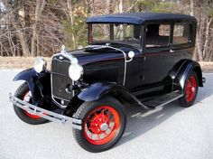 1931 Ford Model A - Bonnie & Clyde Special -