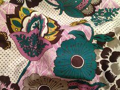 100 Cotton Crib Sheet Plum Floral Modern Nursery by lulazoo, $30.00