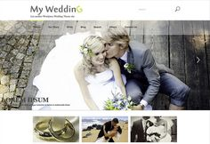 Looking for free responsive WordPress themes for your next WordPress project? We will make you familiar with some best free responsive WordPress themes After all this, the look and feel of th… Wedding Themes, Wedding Events, Weddings, Wedding Guest Book, Wedding Day, Free Wedding, Free Download, Wedding Announcements, Wedding Website
