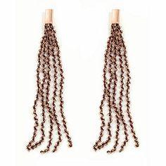 #Pesavento DNA #Rose #SterlingSilver Dangle #Earrings