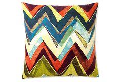 Chevon cool - 20x20 Pillow on OneKingsLane