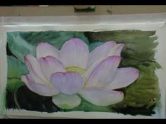 WATERCOLOR PAINTING SUNSET AT EVENTIDE By MILLIE GIFT SMITH - YouTube