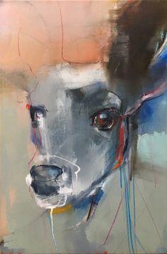 Hare Pictures, Abstract Animal Art, Animal Quilts, Animal Wallpaper, Animal Nursery, Woodland Animals, Animal Paintings, Spirit Animal, Art History