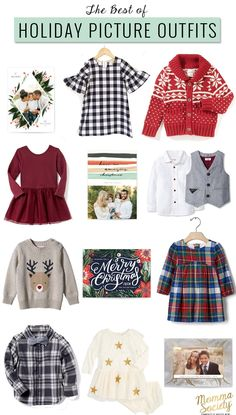 Holiday Picture Family Outfit Ideas | What to wear for Christmas pictures | Christmas Picture Ideas | Christmas Holiday Pictures