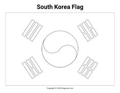 462 best flags flag images and coloring pages images Vietnam Flag free printable south korea flag coloring page download it at s flaglane