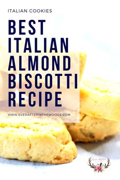 Make your own Italian almond biscotti at home. This dense biscotti is perfect wi.Make your own Italian almond biscotti at home. This dense biscotti is perfect with a cup of coffee or tea. Almond Biscotti Recipe Italian, Italian Cookie Recipes, Italian Cookies, Italian Desserts, Best Cookie Recipes, Sweet Recipes, Best Biscotti Recipe, Lemon Biscotti, Cookie Desserts