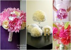 You thought I was done with tissue paper tutorials? No way! I couldn't not share a tutorial on how to make tissue paper flowers! Have you se...