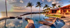 Spectacular oceanfront home in Kamuela, Hawaii