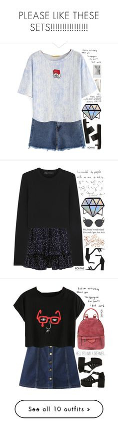 """""""PLEASE LIKE THESE SETS!!!!!!!!!!!!!!!!"""" by scarlett-morwenna ❤ liked on Polyvore featuring Polaroid, vintage, Proenza Schouler, KOON, Converse, Madewell, Love Quotes Scarves, Topshop, Vinyl Revolution and Casetify"""