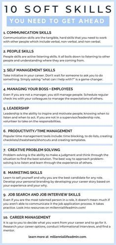 How To Improve Soft Skills In The Workplace Soft Skills Skills Management Skills