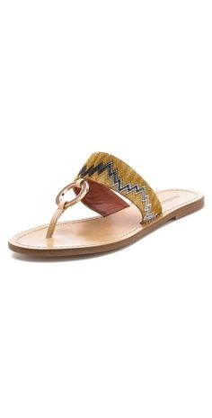 Missoni Flat Sandals | SHOPBOP