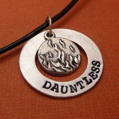 Dauntless necklace. I NEED THIS!!!