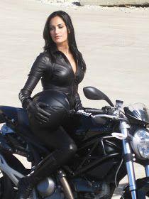 Motorcycle Girl 061 - Donna Feldman Visa ~ Return of the Cafe Racers